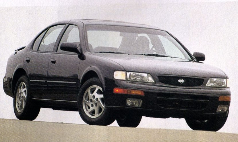 1996 Nissan Maxima Owners Manual