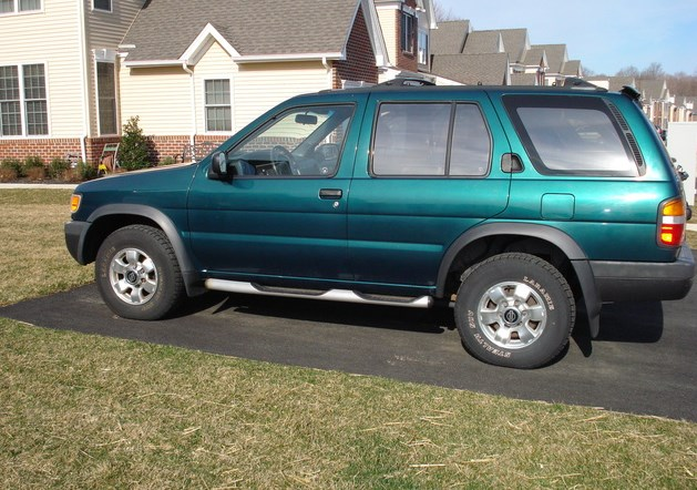 1996 Nissan Pathfinder Owners Manual
