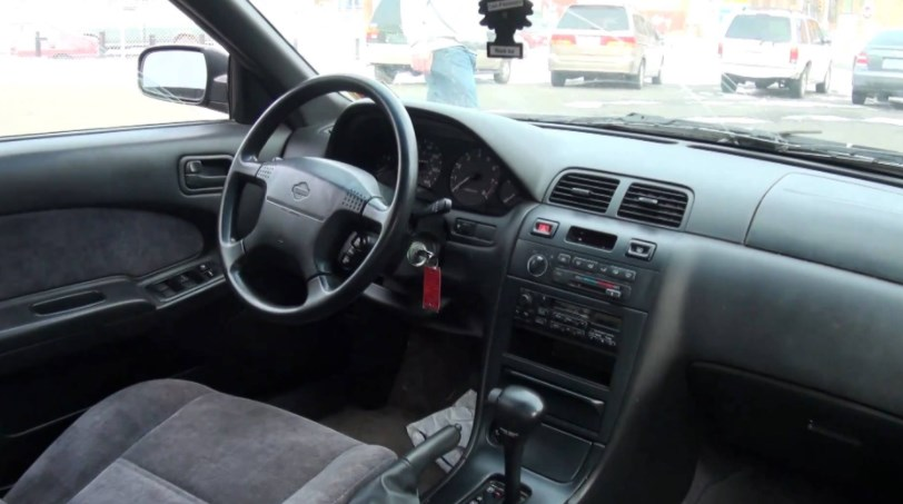 1997 Nissan Maxima Interior HD Wallpaper