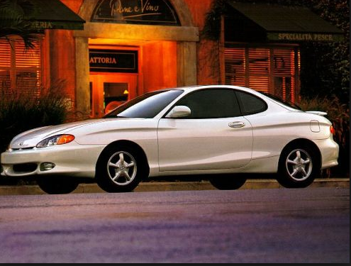 1998 Hyundai Tiburon Owners Manual