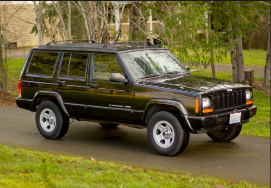 1998 Jeep Cherokee Owners Manual
