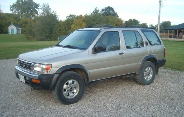 1998 Nissan Pathfinder Owners Manual