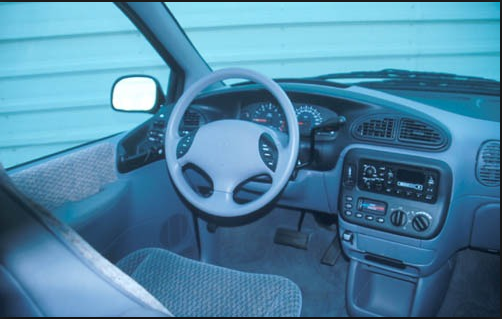 1999 Dodge Caravan Interior and Redesign