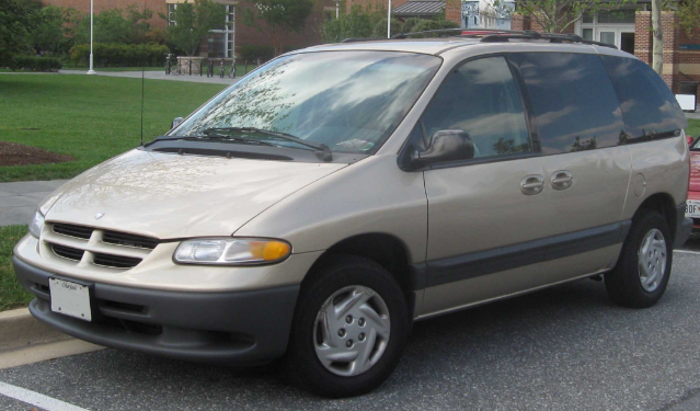 2000 Dodge Caravan Owners Manual