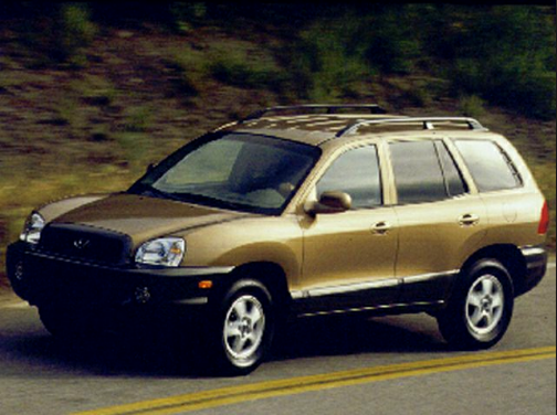 2001 Hyundai Santa Fe Owners Manual