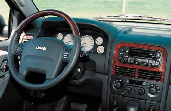 2002 Jeep Cherokee Interior and Redesign