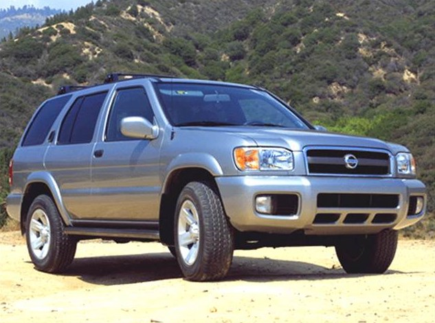 2002 Nissan Pathfinder Owners Manual