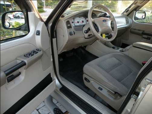 2003 Ford Explorer Sport Trac Interior and Redesign
