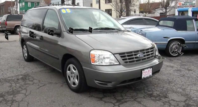 2005 Ford Freestar Owners Manual