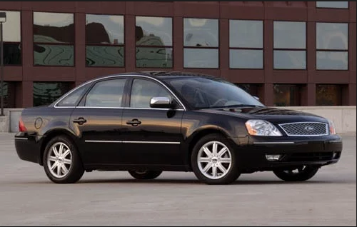 2006 Ford Five Hundred Owners Manual