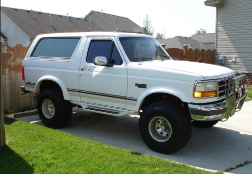1994 Ford Bronco Owners Manual