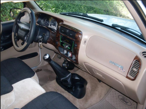 1994 Ford Ranger Interior and Redesign