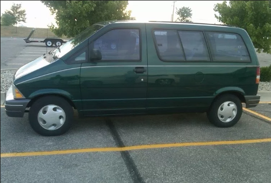 1995 Ford Aerostar Owners Manual