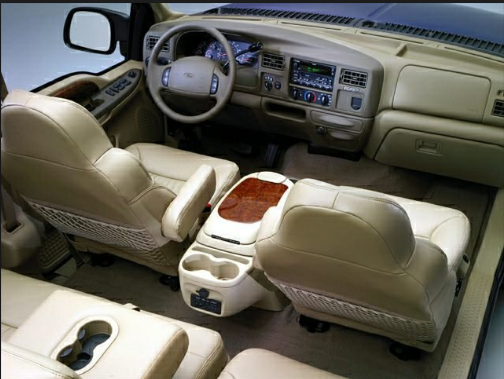 2001 Ford Excursion Interior and Redesign
