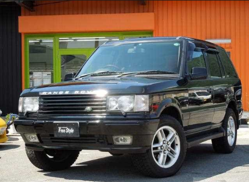 2001 Land Rover Range Rover Owners Manual