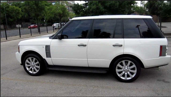 2006 Land Rover Range Rover Owners Manual