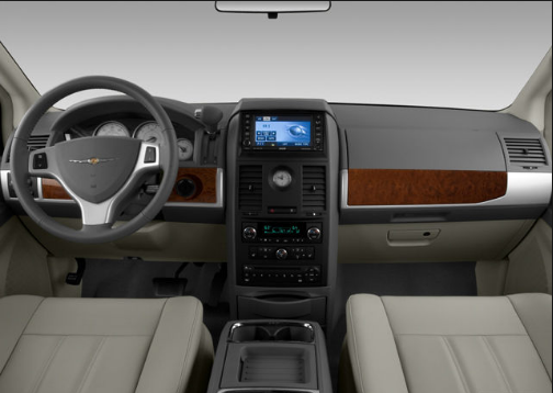 2008 Chrysler Town & Country Interior and Redesign
