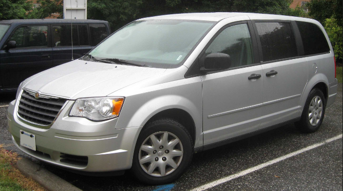 2008 Chrysler Town & Country Owners Manual