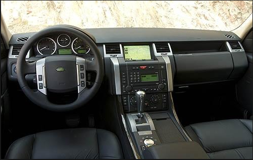2008 Land Rover Range Rover Sport Interior and Redesign