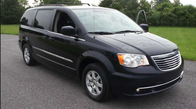 2011 Chrysler Town & Country Owners Manual