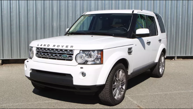2011 Land Rover LR4 Owners Manual