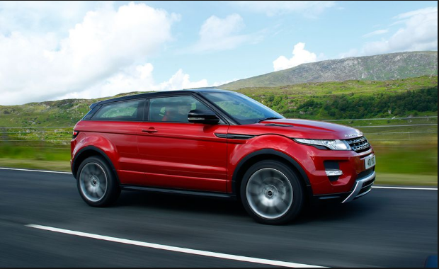 2012 Land Rover Range Rover Evoque Owners Manual