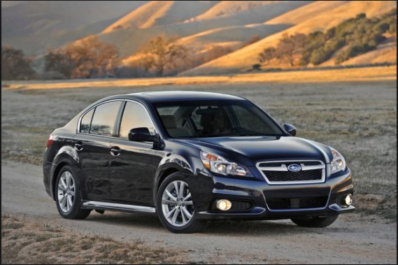 2012 Subaru Legacy Owners Manual