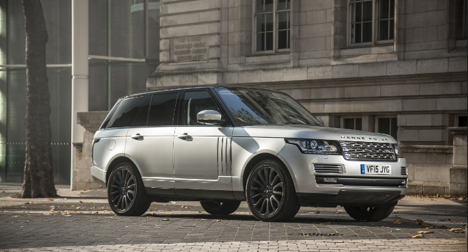 2016 Land Rover Range Rover Owners Manual