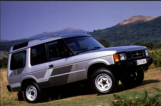 1990 Land Rover Discovery Owners Manual