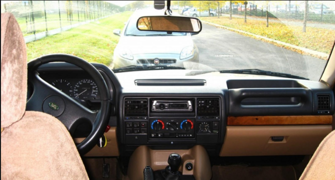 1991 Land Rover Discovery Interior and Redesign