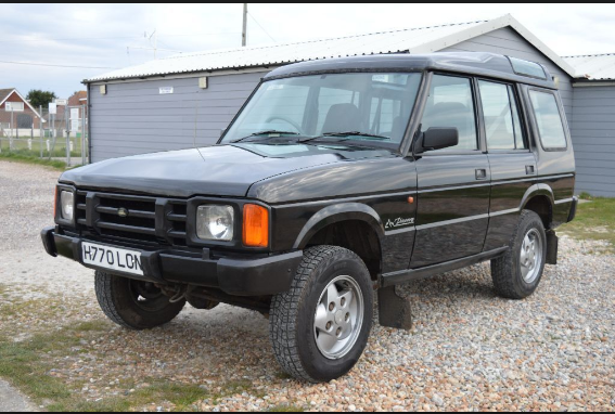 1991 Land Rover Discovery Owners Manual