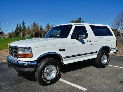 1992 Ford Bronco Owners Manual