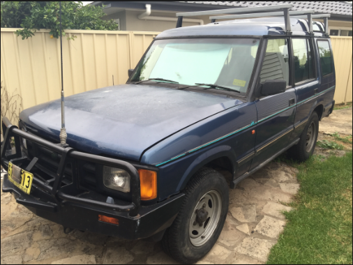 1992 Land Rover Discovery Owners Manual