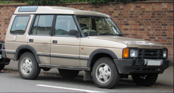 1993 Land Rover Discovery Owners Manual