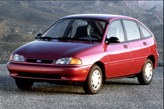 1994 Ford Aspire Owners Manual
