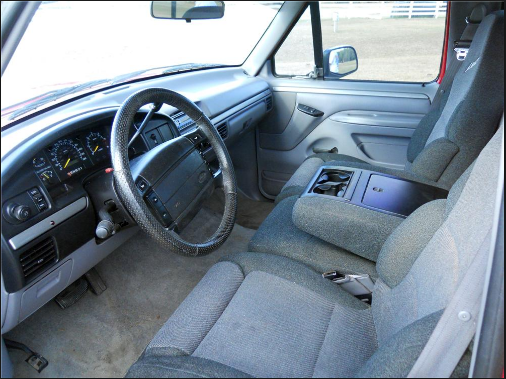1994 Ford F-150 Interior and Redesign