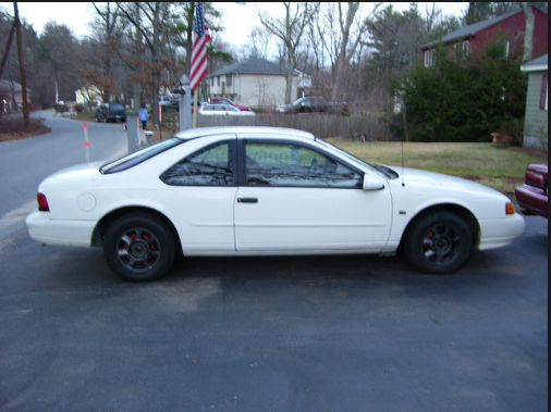 1994 Ford Thunderbird Owners Manual