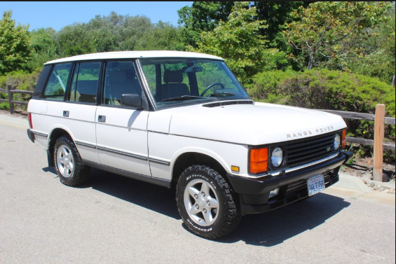 1994 Land Rover Range Rover Owners Manual