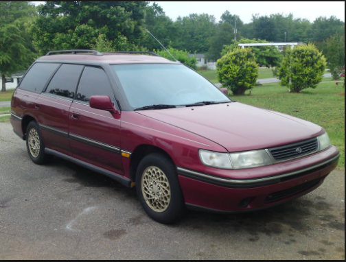 1994 Subaru Legacy Owners Manual