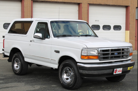1995 Ford Bronco Owners Manual