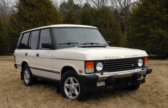 1995 Land Rover Range Rover Owners Manual