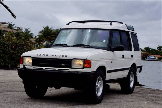 1996 Land Rover Discovery Owners Manual