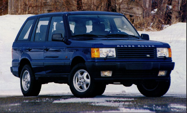 1996 Land Rover Range Rover Owners Manual
