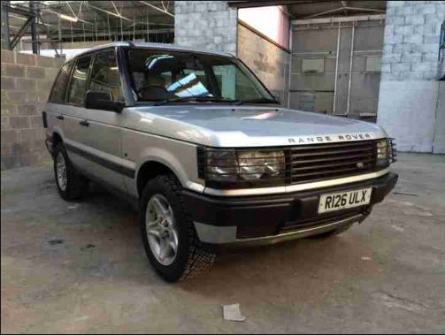1997 Land Rover Range Rover Owners Manual