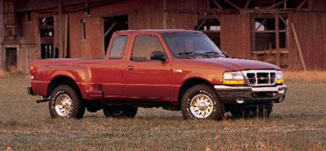 1998 Ford Ranger Owners Manual