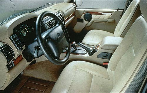 1998 Land Rover Discovery Interior and Redesign