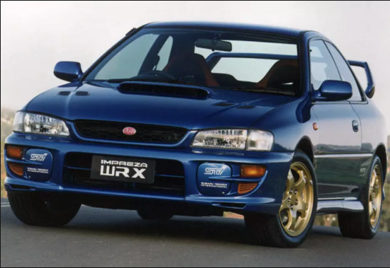 1999 Subaru Impreza Owners Manual