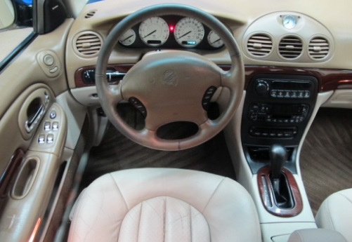 2000 Chrysler LHS Interior and Redesign