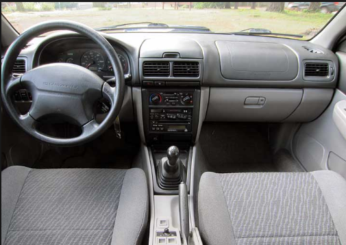 2000 Subaru Impreza Interior and Redesign