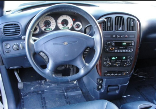 2001 Chrysler Town & Country Interior and Redesign